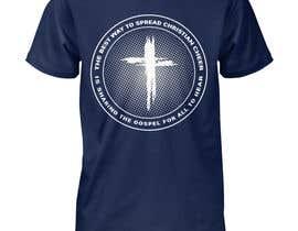 Nro 29 kilpailuun Gospel Cheer Tee Shirt design käyttäjältä Gopal7777