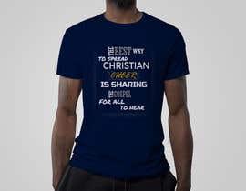Nro 2 kilpailuun Gospel Cheer Tee Shirt design käyttäjältä estorak