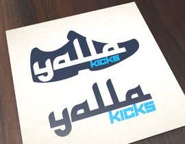 "#27 для This logo is for ""YallaKicks"" — The Middle East's First Sneaker Subscription Box. I need a logo to be created in a couple of popular sizes to be used across all media. от manfredoparada"