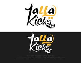 "#24 cho This logo is for ""YallaKicks"" — The Middle East's First Sneaker Subscription Box. I need a logo to be created in a couple of popular sizes to be used across all media. bởi matrix3x"