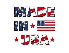 "#40 for Design Transparent Sticker for ""Made in USA"" product by beautybuffaumaim"