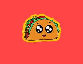 #21 cho Design a unique transparent taco sticker for a label bởi EmmanuelOchie