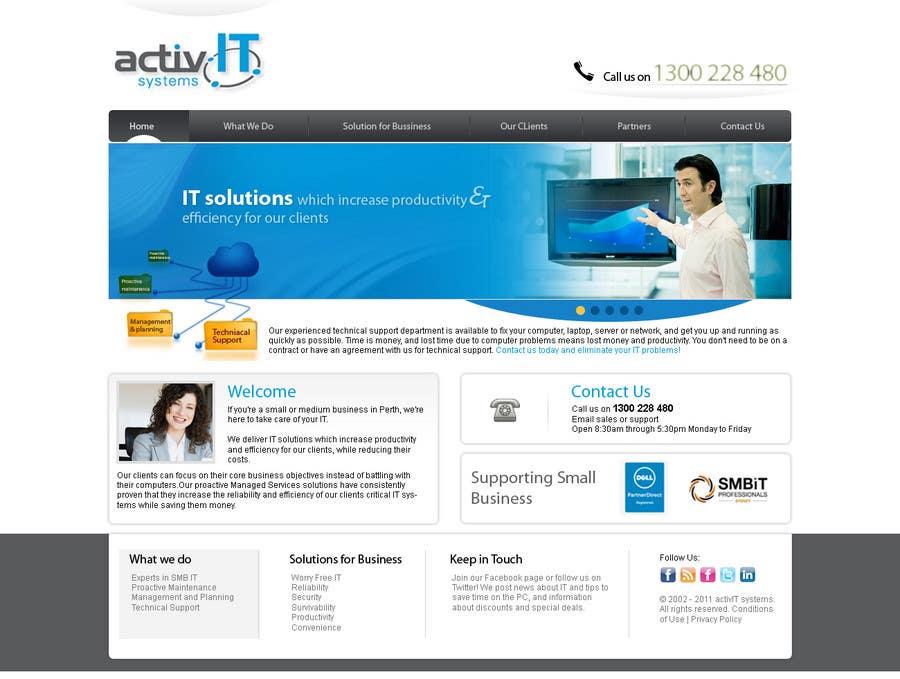 Inscrição nº                                         22                                      do Concurso para                                         Website Design for activIT systems