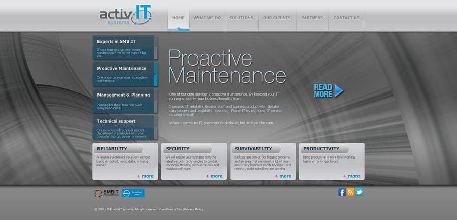 Inscrição nº                                         21                                      do Concurso para                                         Website Design for activIT systems