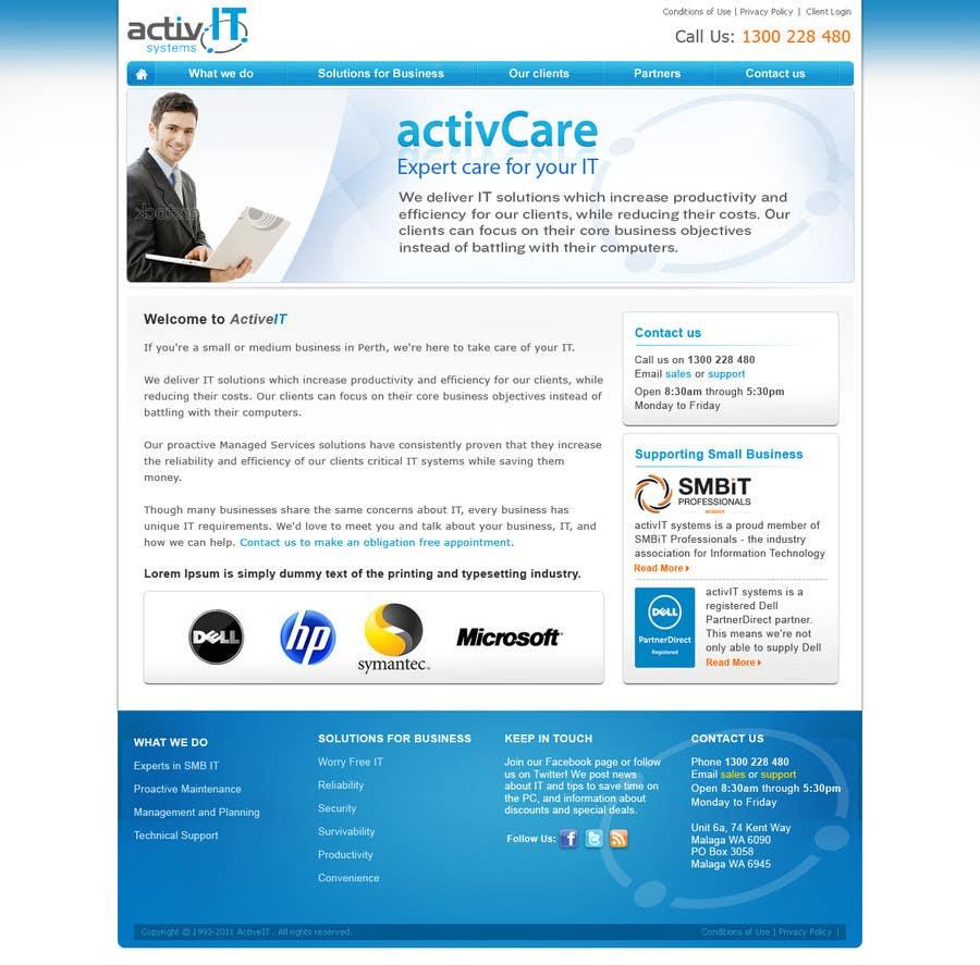 Inscrição nº                                         43                                      do Concurso para                                         Website Design for activIT systems
