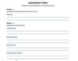 nº 8 pour Design assessment form par ehsanjavid333