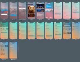 Nro 115 kilpailuun minimist trendy modern Redesign Mobile UX/UI Wireframes käyttäjältä shahbaz033217945