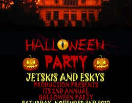 #44 for Design me a flyer: Halloween Party by hmamun9772