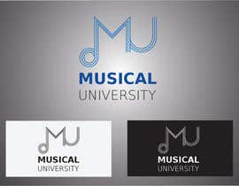 nº 19 pour Logo Design for Musical University par anamiruna
