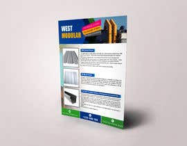 "#13 for Sell Sheet - PBR Metal Panel, Ag Metal Panel & 6"" K-Style Seamless Gutters af raisulrahi9"