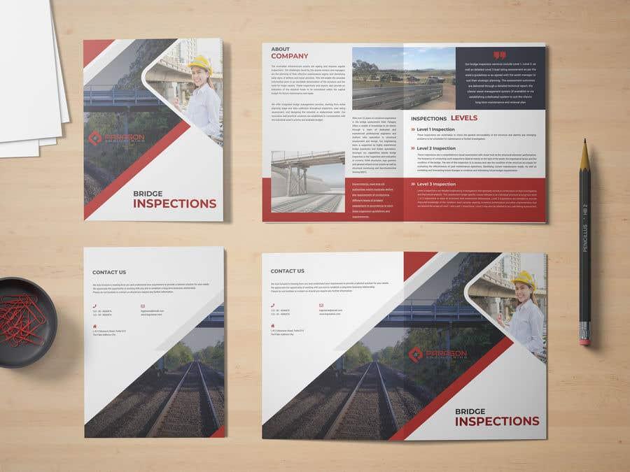 Konkurrenceindlæg #11 for Design company brochure