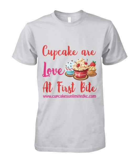 Contest Entry #57 for T-shirt designs for my cupcake shop!