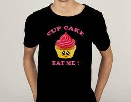 #76 for T-shirt designs for my cupcake shop! by cmtfarjana