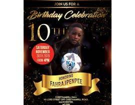Reffas tarafından Birthday invitation card design için no 3
