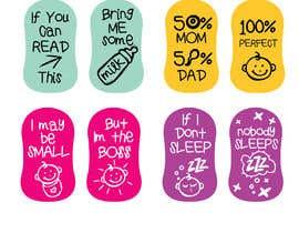 nº 14 pour Amazing Baby Socks Design Contest par eling88