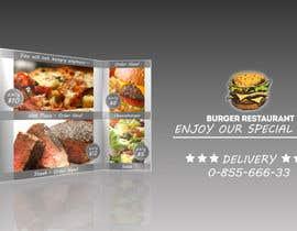#1 cho Design an Advertisement for a Burger Restaurant bởi IvilinaGavazova