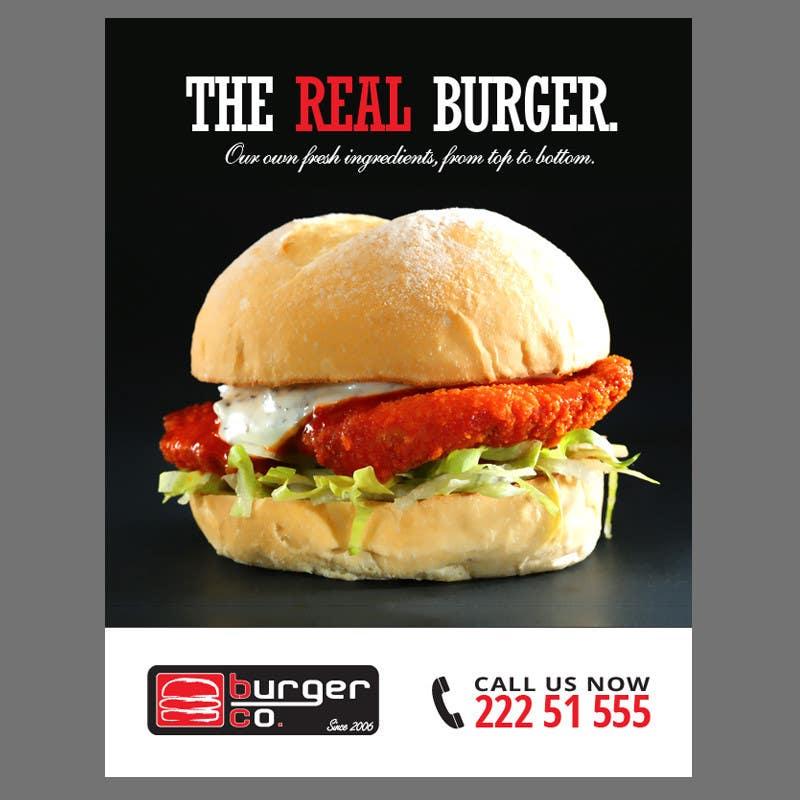 Bài tham dự cuộc thi #                                        2                                      cho                                         Design an Advertisement for a Burger Restaurant