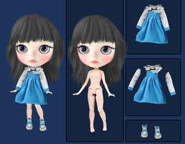 #20 cho Realstic Fashion/Costume Illustration for Doll App in Japan bởi agusgazali