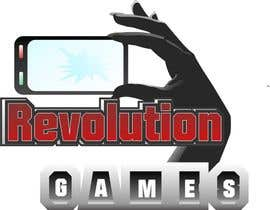nº 10 pour Logo Design for Revolution Games par alexkettner