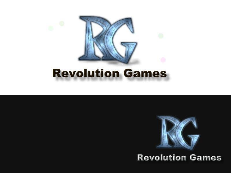 Kilpailutyö #                                        14                                      kilpailussa                                         Logo Design for Revolution Games