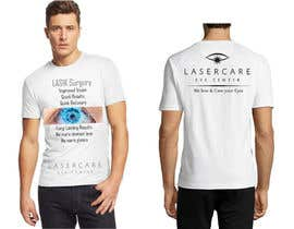 #36 for Tshirt design for LASIK surgeon af FaridKhan039