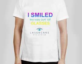 #46 for Tshirt design for LASIK surgeon af Kalluto