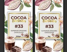 #49 for drinking chocolate label af ssandaruwan84