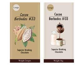 #45 for drinking chocolate label af fizar2012