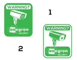 #17 untuk Need video surveillance decal designed. oleh Magictool