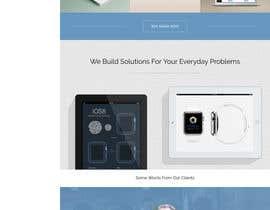 #25 untuk Startup company needs a website design oleh saklan