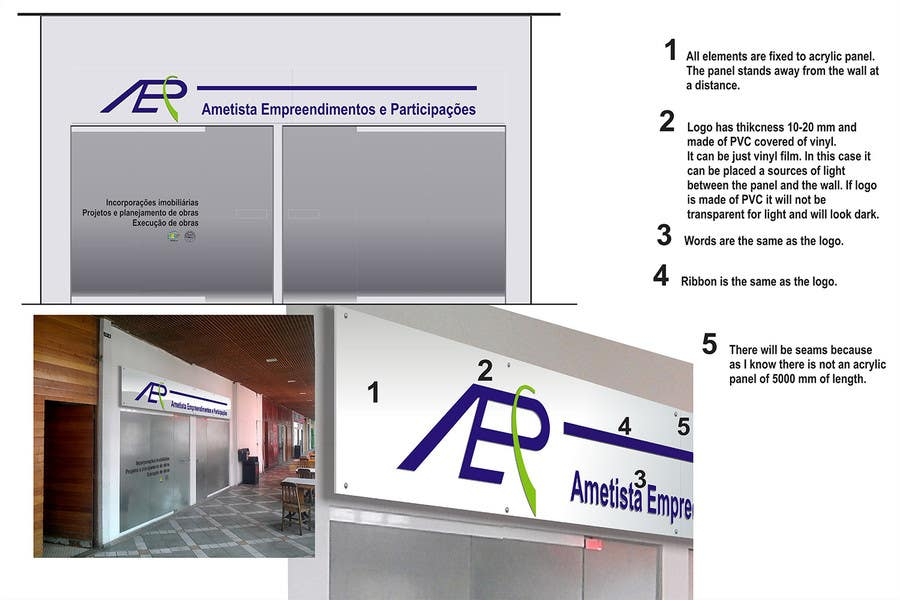 #10 for Illustration Design for office storefront by arturkh