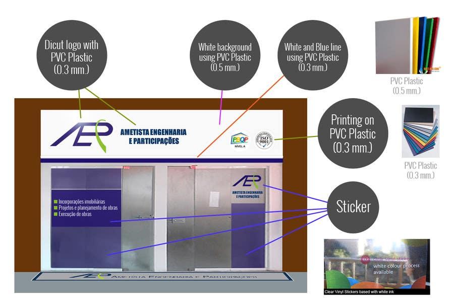 #7 for Illustration Design for office storefront by eak108