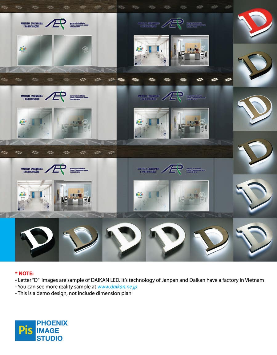 #30 for Illustration Design for office storefront by PhoenixvnStudio