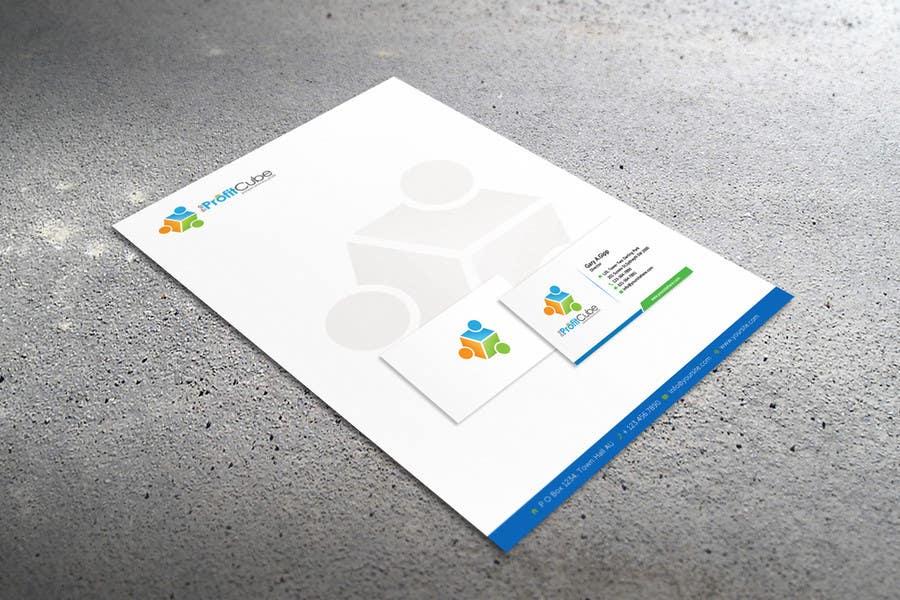 Inscrição nº 16 do Concurso para Business Card and letterhead Design for The Profit Cube