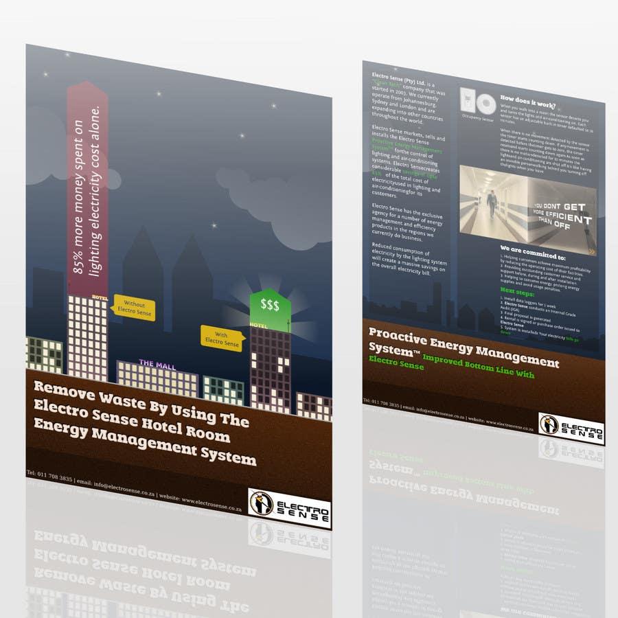 Contest Entry #                                        58                                      for                                         Brochure Design for Electro Sense