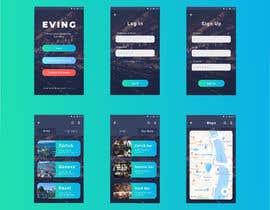 #31 для Mobile App design contest - nightlife App от aziztaqin