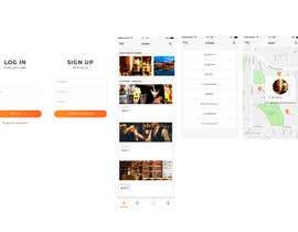 #11 для Mobile App design contest - nightlife App от jayeshux