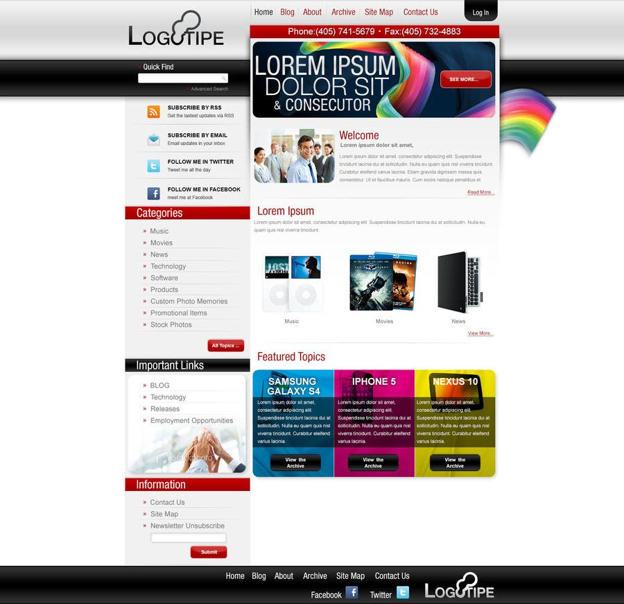 Contest Entry #                                        2                                      for                                         Wordpress Theme Design for Seo Company