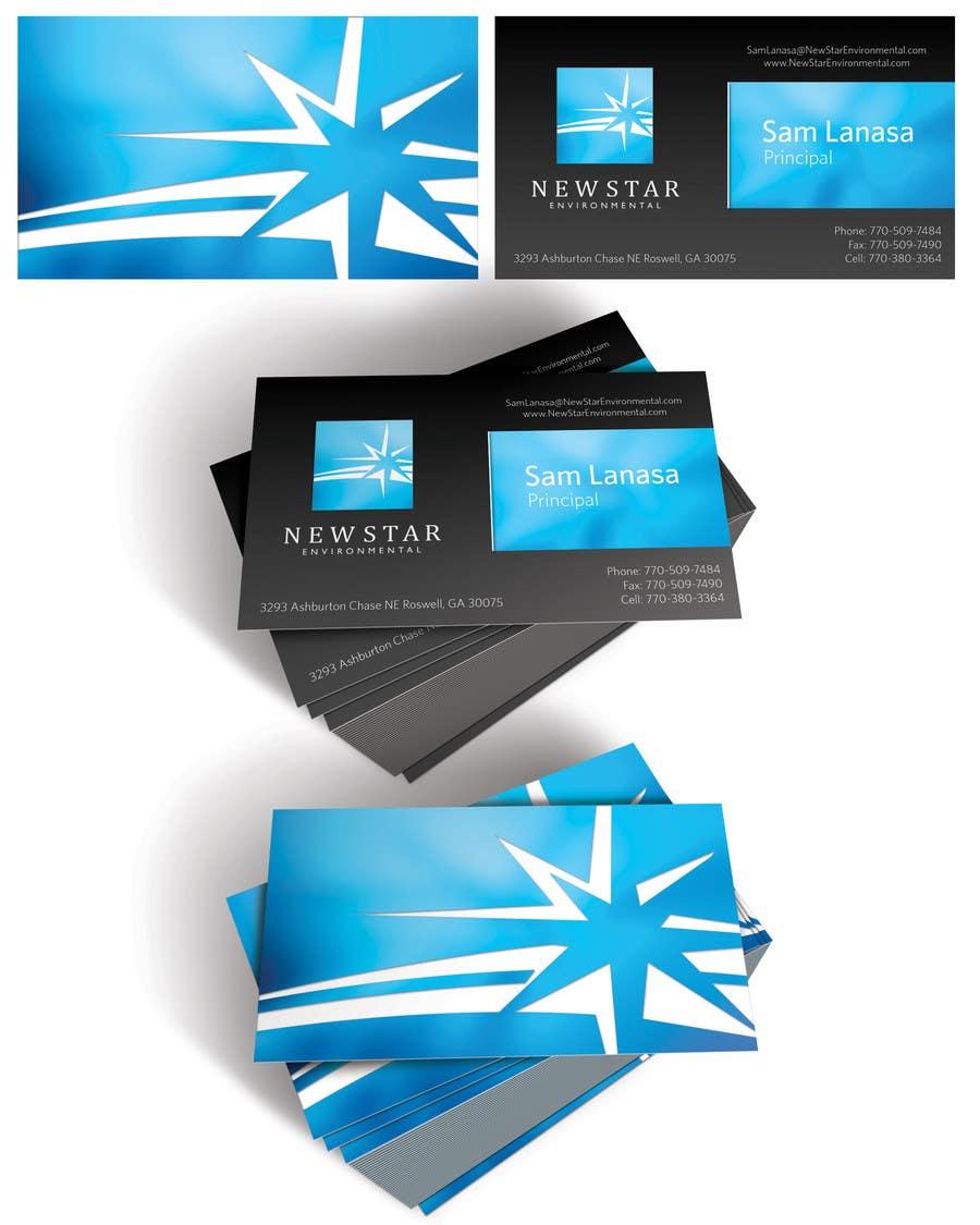 Bài tham dự cuộc thi #59 cho Business Card Design for New Star Environmental