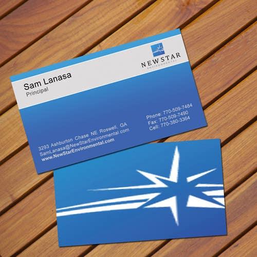 Inscrição nº 27 do Concurso para Business Card Design for New Star Environmental