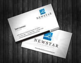 #21 untuk Business Card Design for New Star Environmental oleh topcoder10