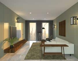#47 for living room with small kitchen design by NTHAAstudio