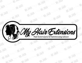 nº 20 pour Hair Extensions & Hairdressing logo par jackmh500