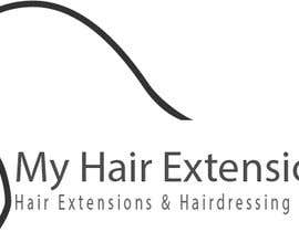#9 for Hair Extensions & Hairdressing logo by EijazPardhan