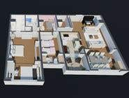 3D Modelling Contest Entry #84 for 144sqm Apartment
