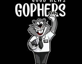 #41 for Make this Gopher a Missionary - T-Shirt Logo af RibonEliass