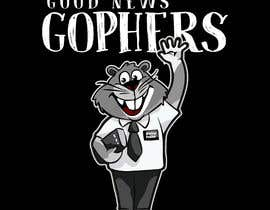 #42 for Make this Gopher a Missionary - T-Shirt Logo af RibonEliass