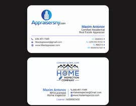 #71 for Business card For real estate appraiser 2 by khumayun1978