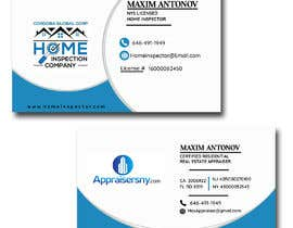 #84 for Business card For real estate appraiser 2 by khantayaba