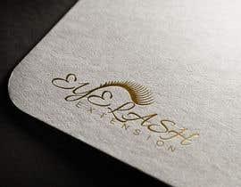 Nro 29 kilpailuun Making a logo and found a name for my lash brand käyttäjältä mstalza323